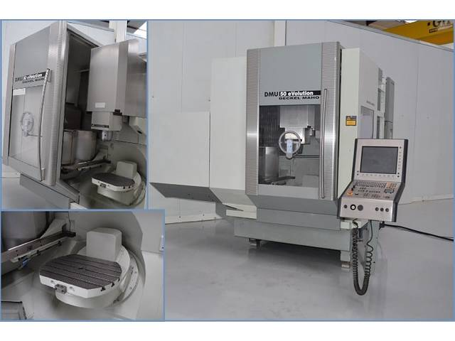 more images Milling machine DMG DMU 50 eVolution