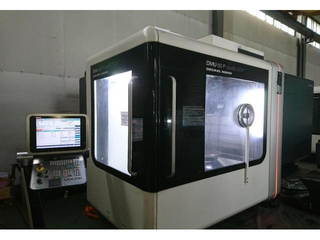 more images Milling machine DMG DMU 60 P duoBlock