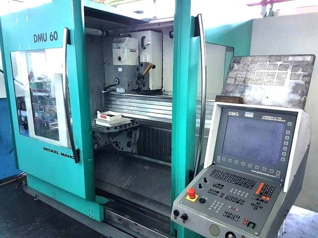 more images Milling machine DMG DMU 60 T, Y.  1999