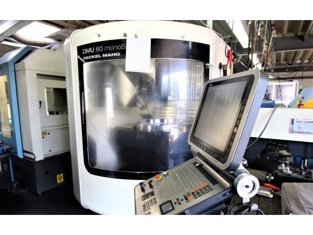 more images Milling machine DMG DMU 60 monoBLOCK, Y.  2011
