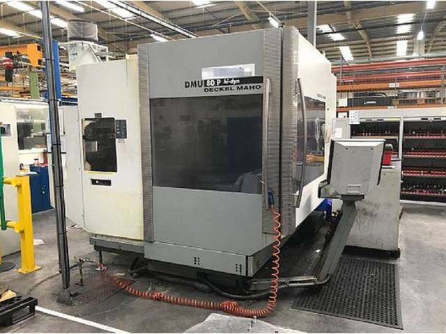 more images Milling machine DMG DMU 80 P hi-dyn