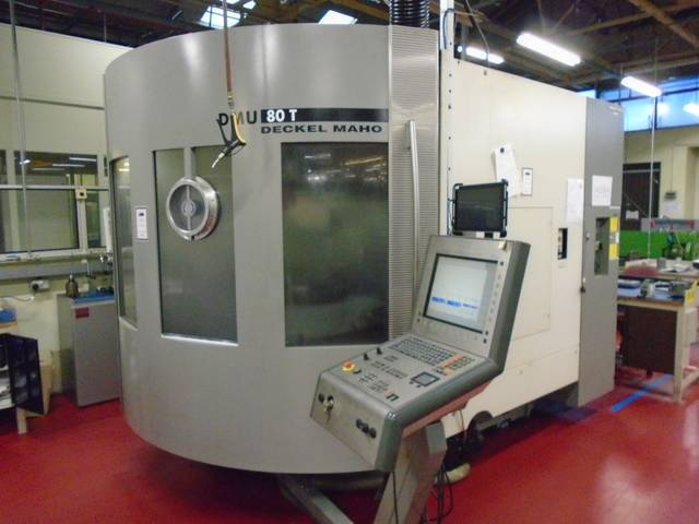 more images Milling machine DMG DMU 80 T
