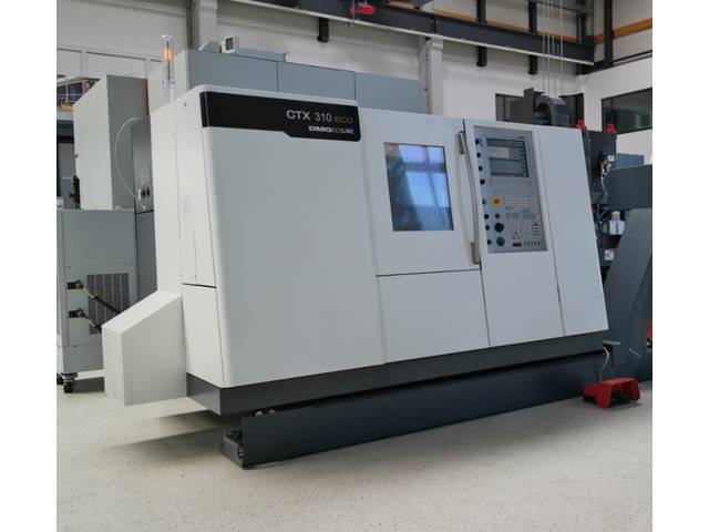 more images Lathe machine DMG CTX 310 V3 ecoline
