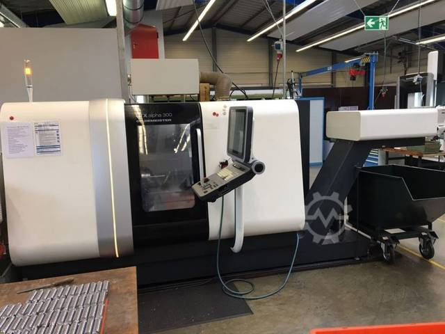 more images Lathe machine DMG CTX Alpha 300 V4