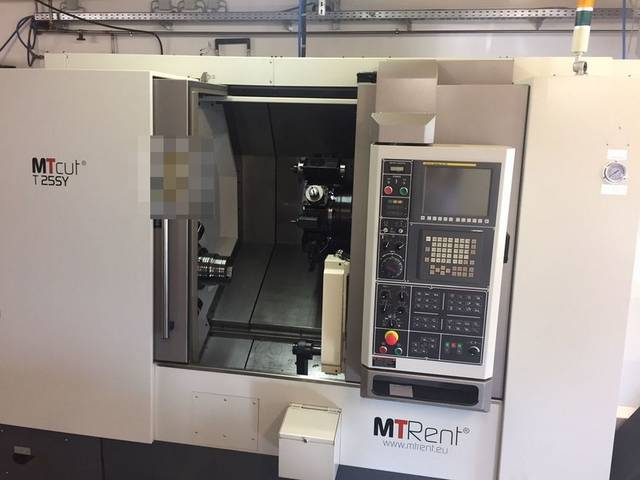 more images Lathe machine MTRent MTcut T 25 SY - FNL 250 SY NL2500 Vorführmaschine/demo