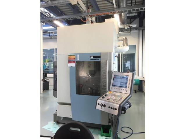 more images Milling machine DMG Sauer Ultrasonic 50, Y.  2007