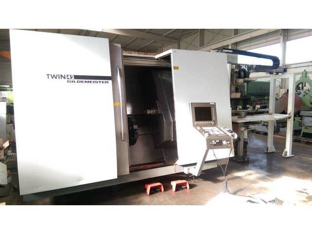 more images Lathe machine DMG Twin 42