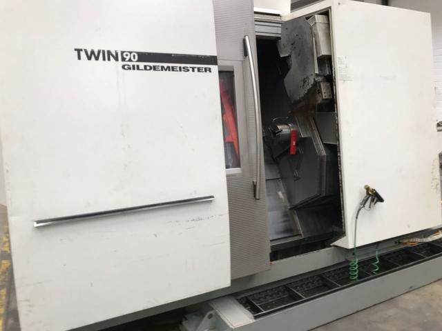 more images Lathe machine DMG Twin 90