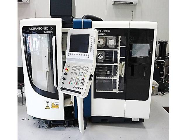 more images Milling machine DMG Ultrasonic 10