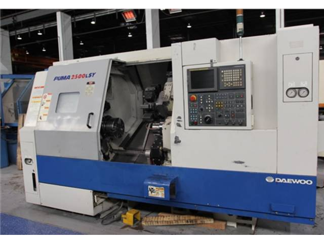 more images Lathe machine Doosan Daewoo Puma 2500 LSY