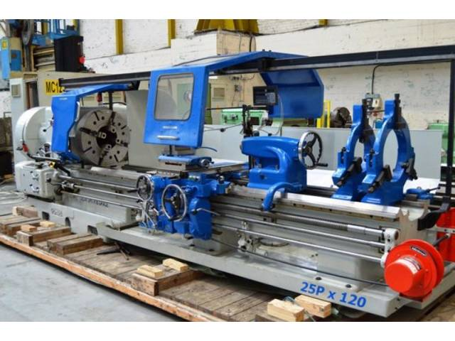 more images Lathe machine Dean Smith & Grace 25 P x 120 - Rebuilt