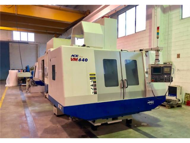 more images Milling machine Doosan ACE VM 640, Y.  2007