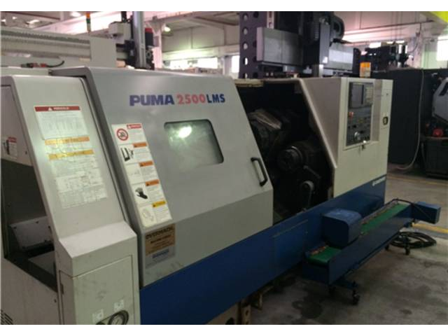 more images Lathe machine Doosan Daewoo 2500 LMS