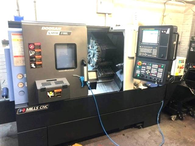 more images Lathe machine Doosan Deiwoo Lynx 2100 L
