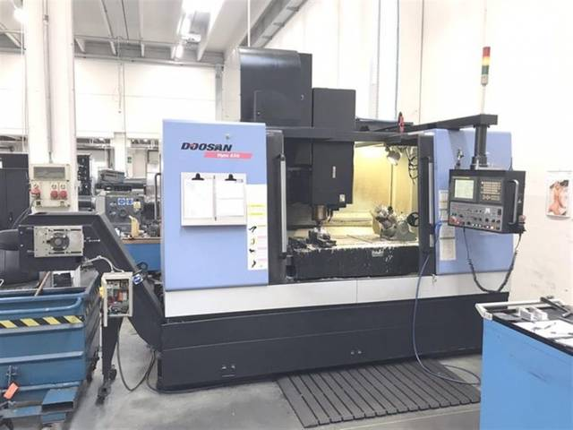 more images Milling machine Doosan Mynx 650, Y.  2008