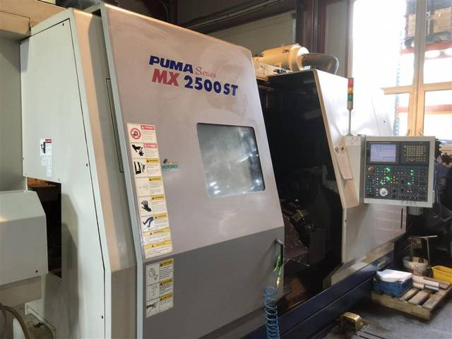 more images Lathe machine Doosan Puma MX 2500 ST