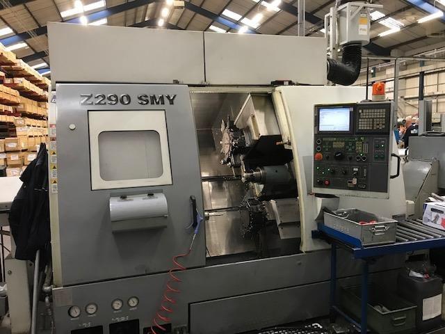 more images Lathe machine Doosan Z 290 SMY