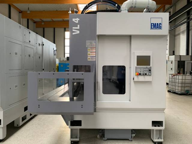 more images Lathe machine Emag VL 4