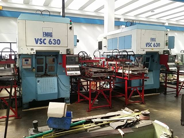 more images Lathe machine Emag VSC 630 x 2