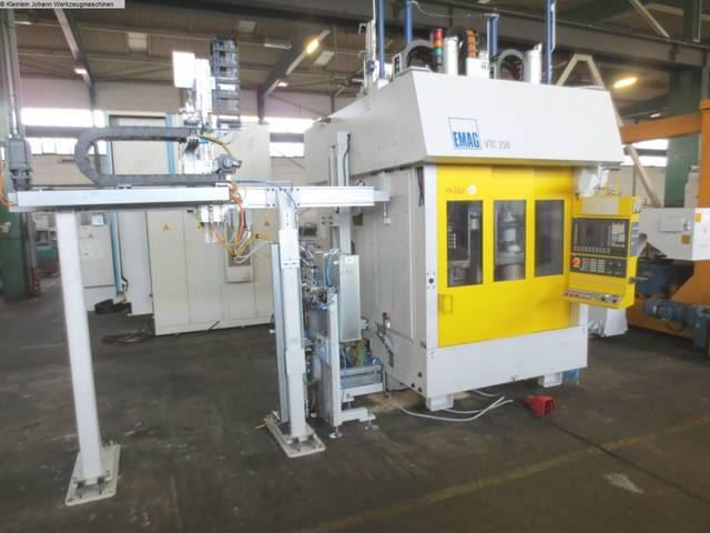 more images Lathe machine Emag VTC 250