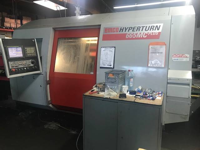 more images Lathe machine Emco Hyperturn 665 MC