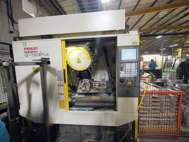 more images Milling machine Fanuc Robodrill α-T21iFL