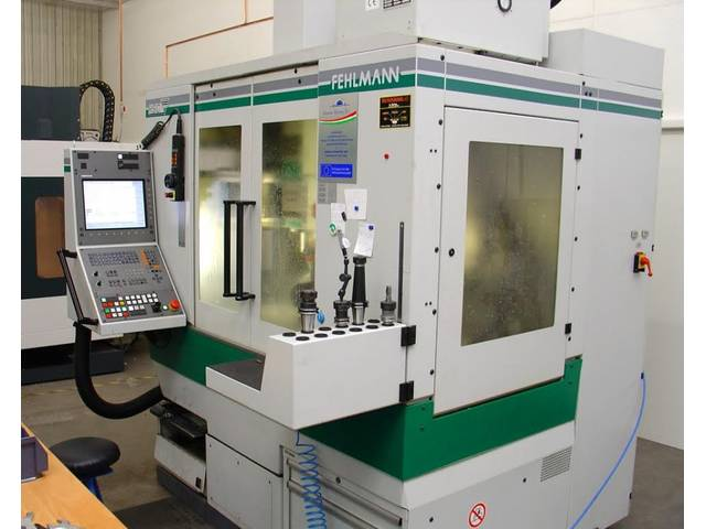 more images Milling machine Fehlmann Pikomax 60 M HSC