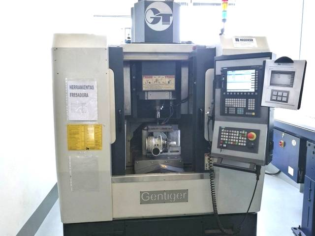 more images Milling machine Gentiger GT 45 - 5AX (3 + 2), Y.  2011
