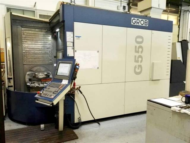 more images Milling machine Grob G 550