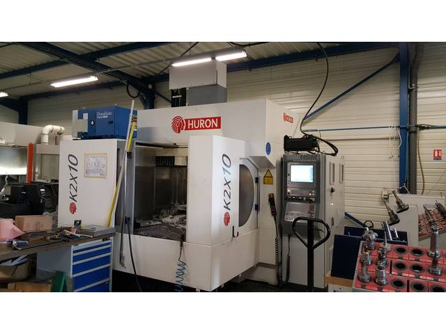 more images Milling machine Huron K 2 X 10