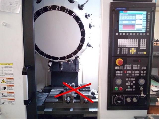 more images Milling machine Hyundai WIA iCUT 400 M, Y.  2016