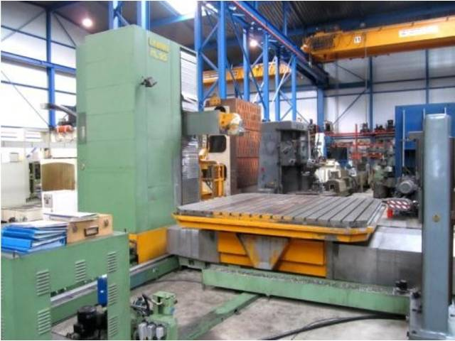 more images I.M. Parpas ML 90 / 4000 Bed milling machine