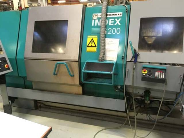 more images Lathe machine Index G 200