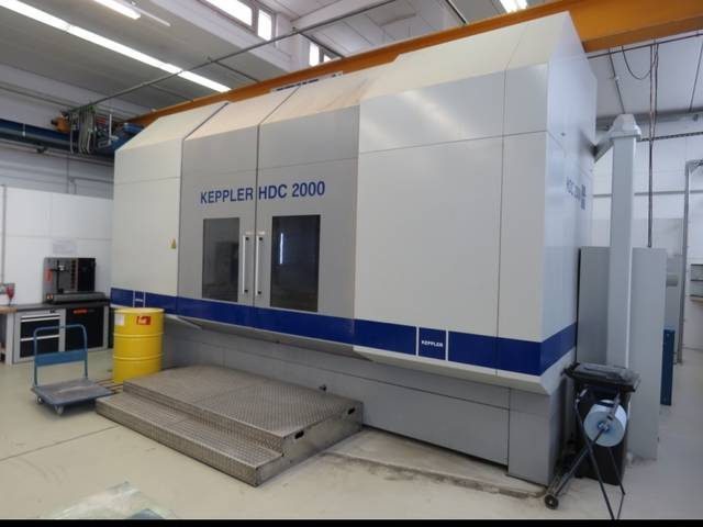 more images Milling machine Keppler HDC 2000, Y.  2010