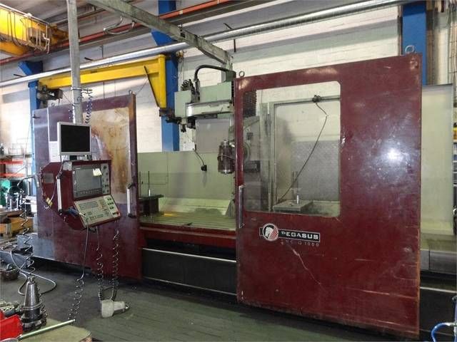more images Kiheung KNC Q 1000 x 3100 Bed milling machine