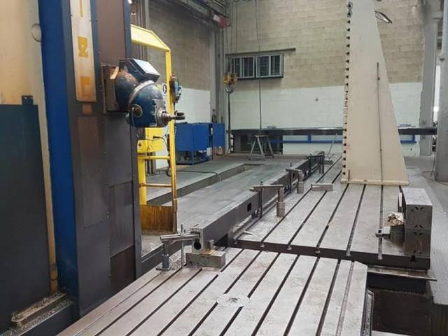 more images Lazzati 10M HB 2M Bed milling machine