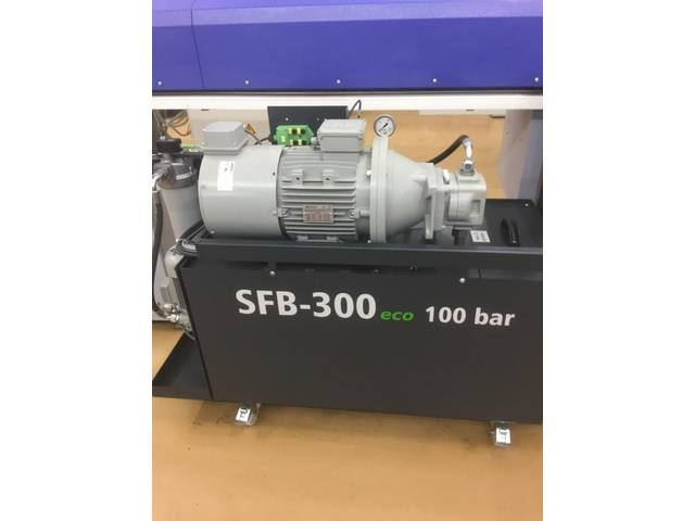 more images Büchler SFB 300 eco 100 bar Used accessories