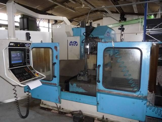 more images MTE Kompakt Bed milling machine
