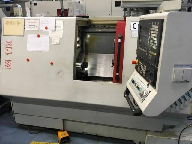 more images Lathe machine Magdeburg M 110