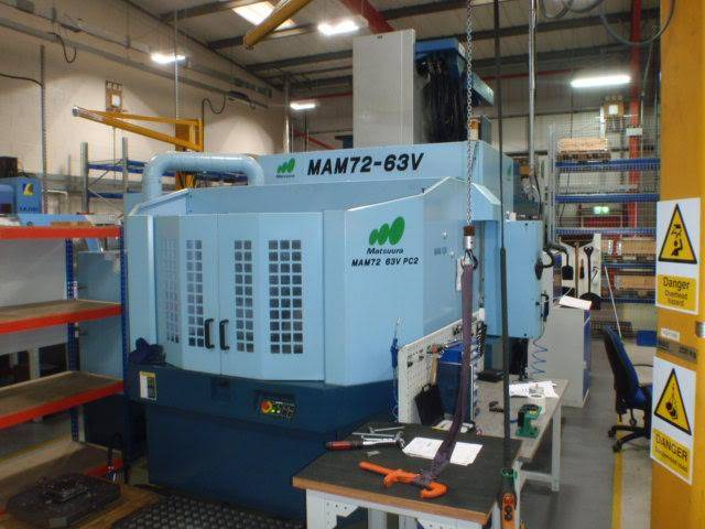 more images Milling machine Matsuura MAM 72 - 63 V