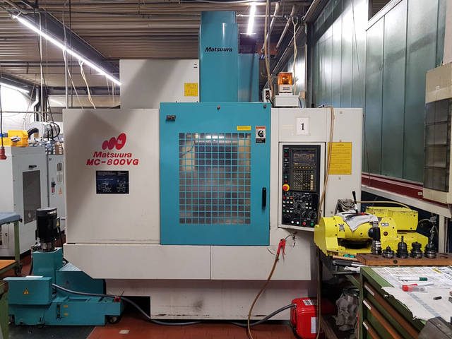 more images Milling machine Matsuura MC 800 VG, Y.  1997