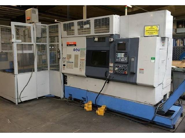 more images Lathe machine Mazak SQT 250 MSY + GL 100 F