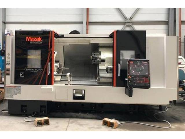 more images Lathe machine Mazak QT 300 MS neu/new