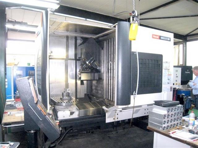 more images Milling machine Mazak Angulax 900, Y.  2006