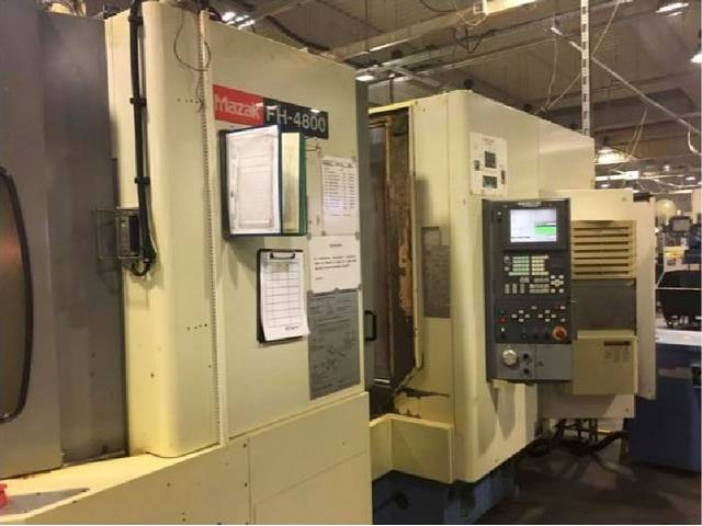 more images Milling machine Mazak FH 4800, Y.  2005