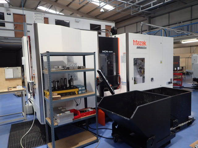 more images Milling machine Mazak HCN 4000, Y.  2017