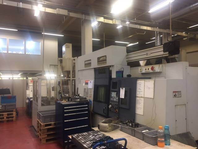 more images Lathe machine Mazak Integrex 200 SY + portal/gentry