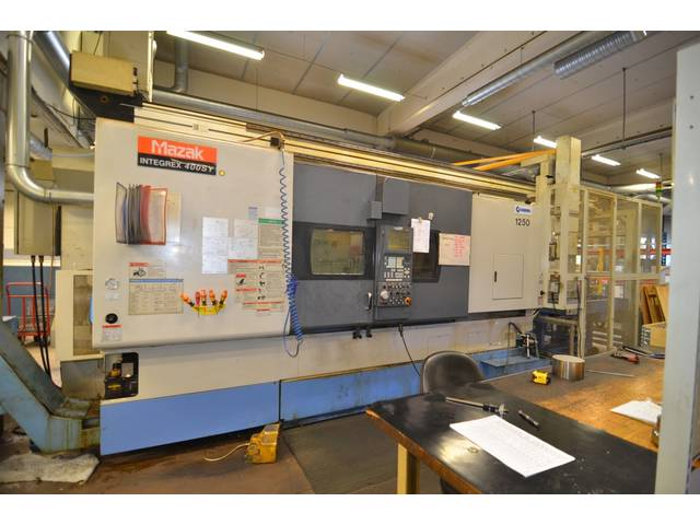 more images Lathe machine Mazak Integrex 400 SY GL 300