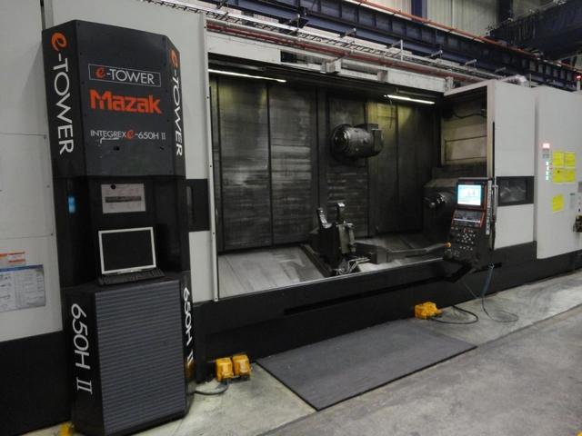 more images Lathe machine Mazak Integrex E 650 H S II