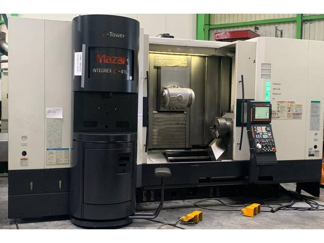 more images Lathe machine Mazak Integrex e-410 HS multi tasking